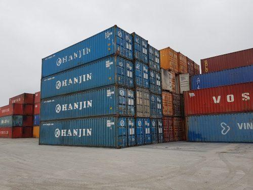 Container khô 40 Feet thấp – 40DC