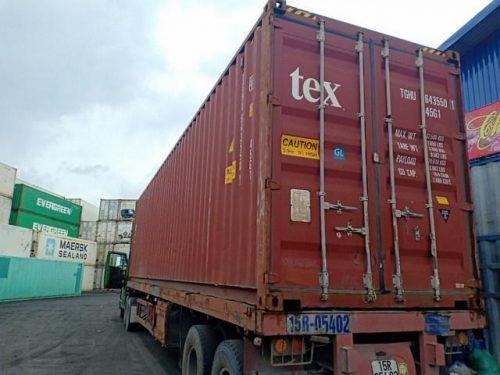 Container khô 40 feet cao – 40HC
