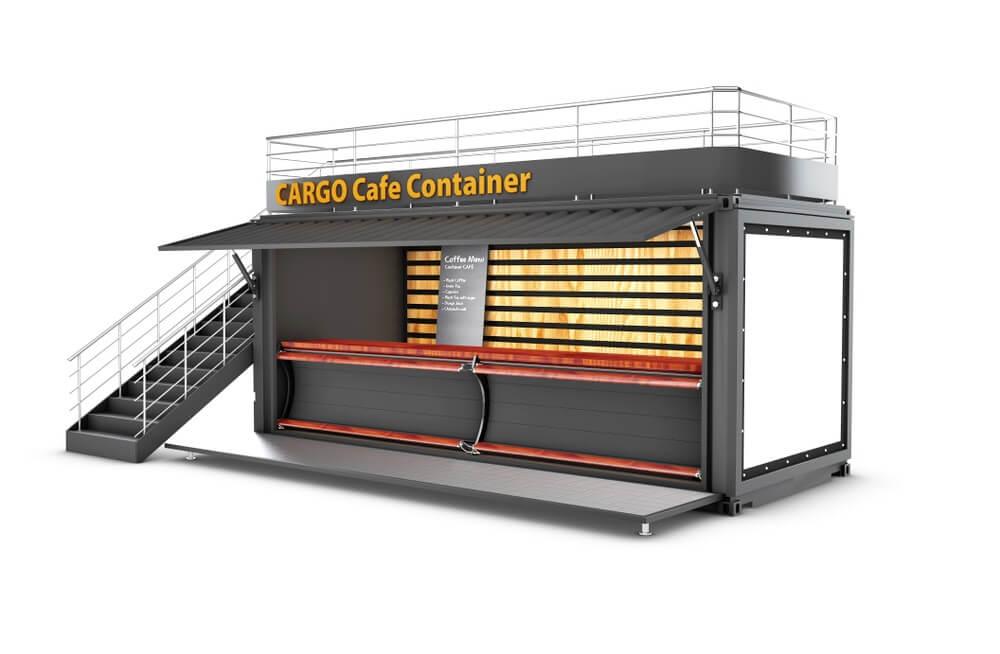 Container văn phòng có khả năng áp dụng đối với nhiều loại địa hình khác nhau