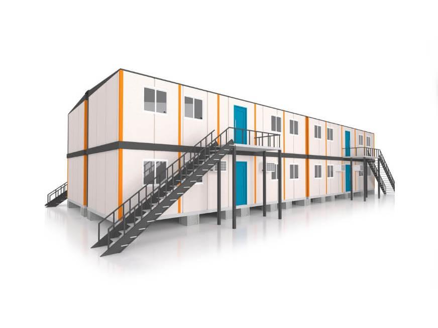 Chi phí xây dựng container văn phòng 40 feet không cao